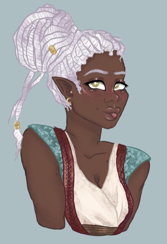 My character on FRP, Erywën the elf!