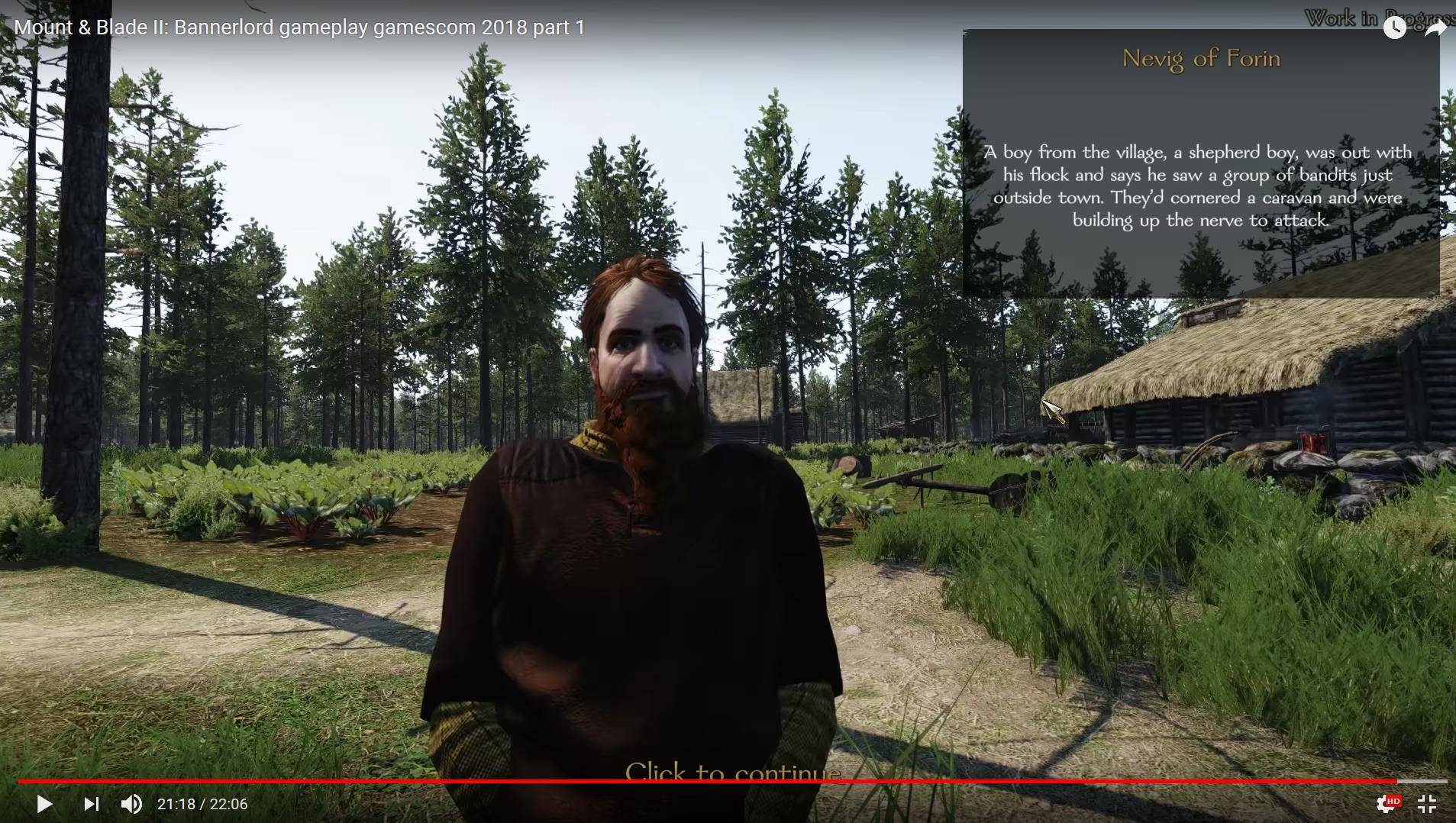 Diario semanal de desarrollo de Bannerlord 56: Quests 2