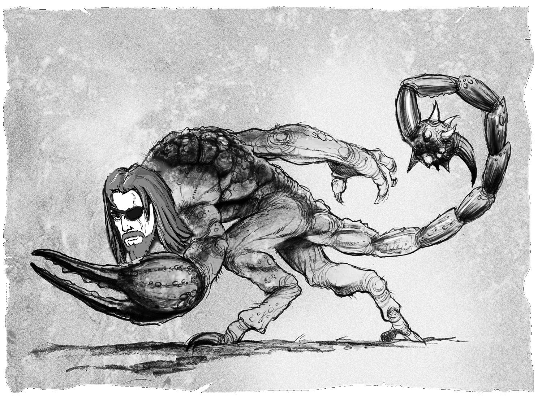 Ансгар, сын Саркота и ужас Долины Испытаний