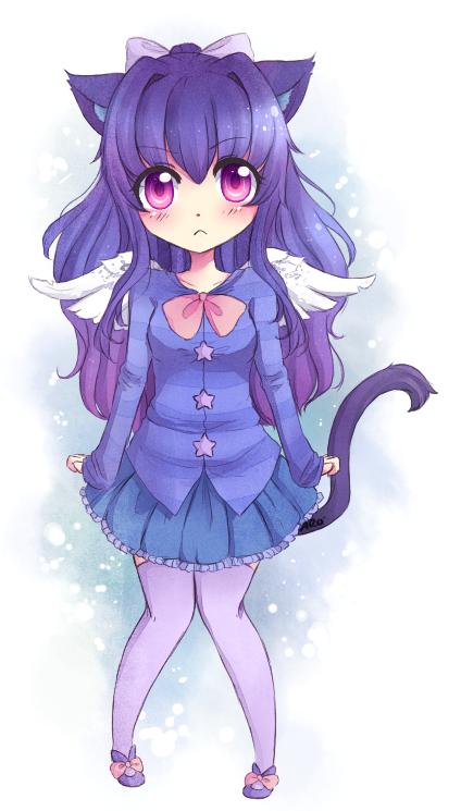 Tamaria Onegai_kawaii_mascot_contest_prize_by_shiroi_mizu_ryuu-d722e1d