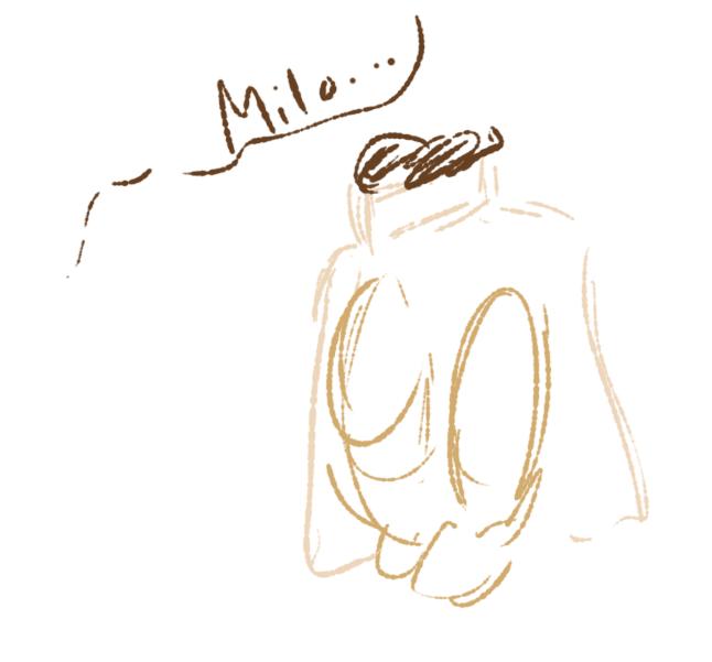 Hiding Milo