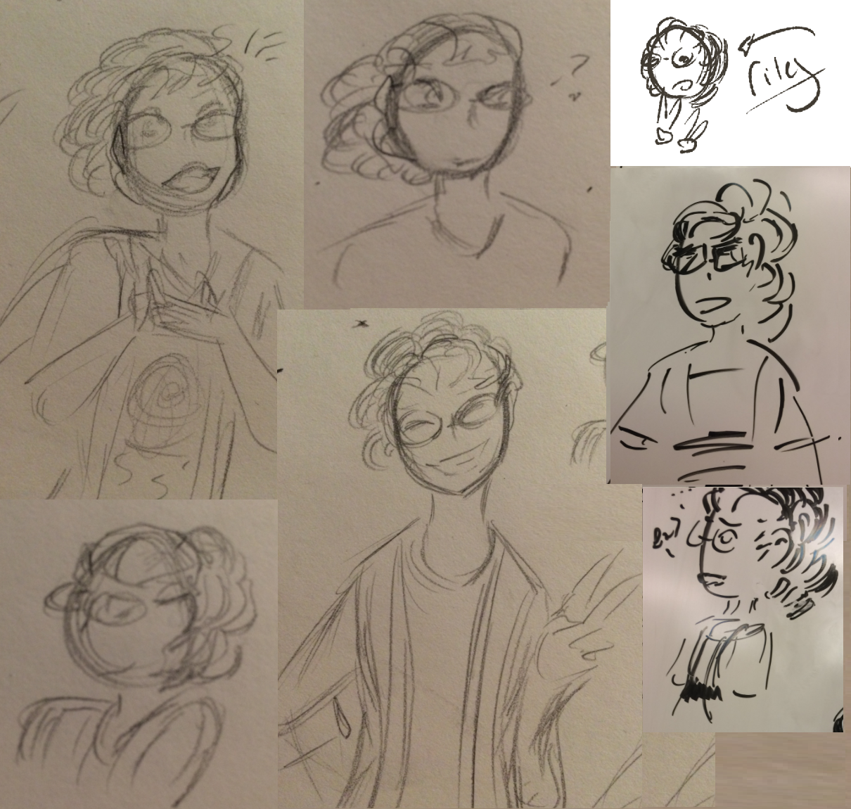 Riley Sketch Compilation