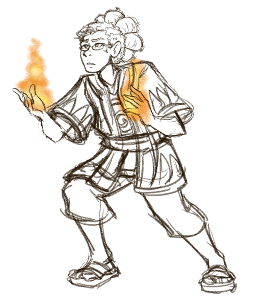 Gijinka Riley got fire
