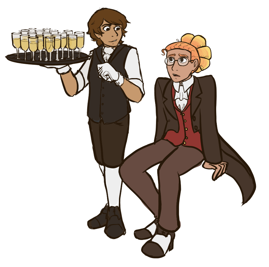 Milo and Riley Fancy AU