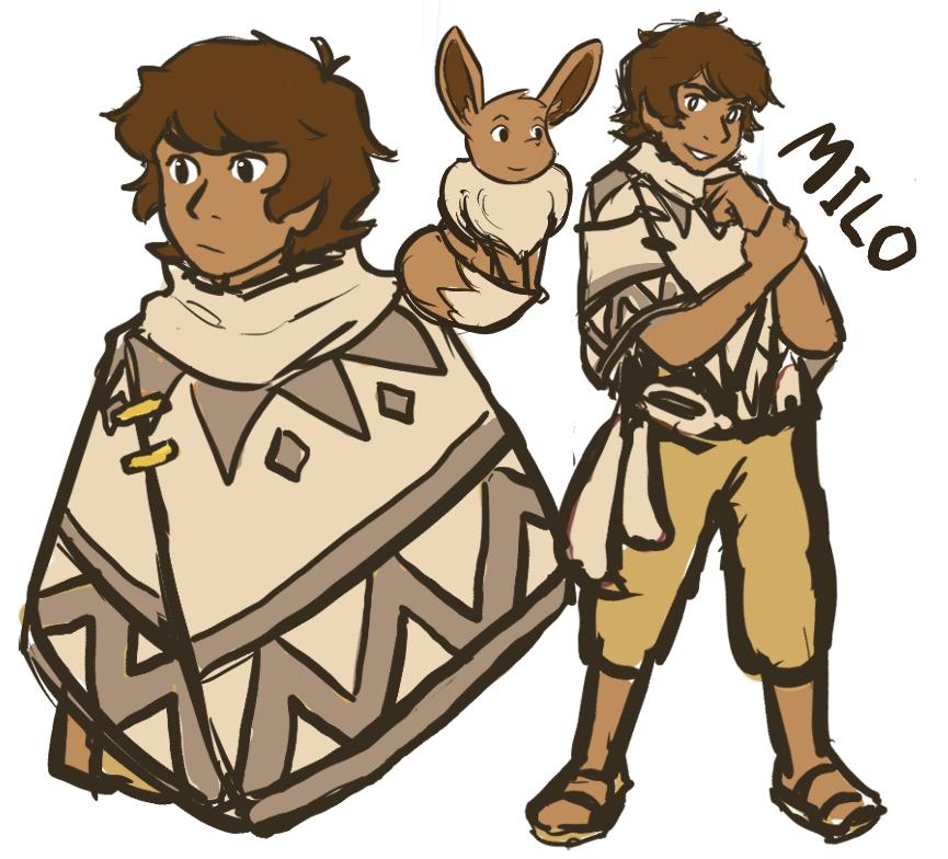 Milo's Original Gijinka Design