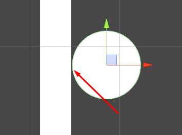 [RESOLVIDO] Saber o lado de um círculo toca em um objeto. Unknown