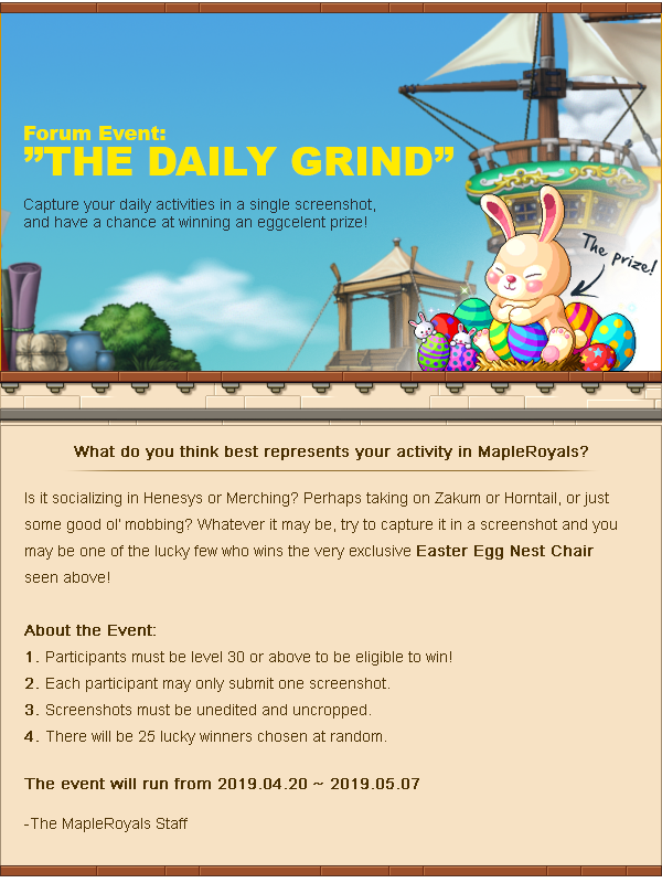 The Daily Grind Easter Forum Event 2019
