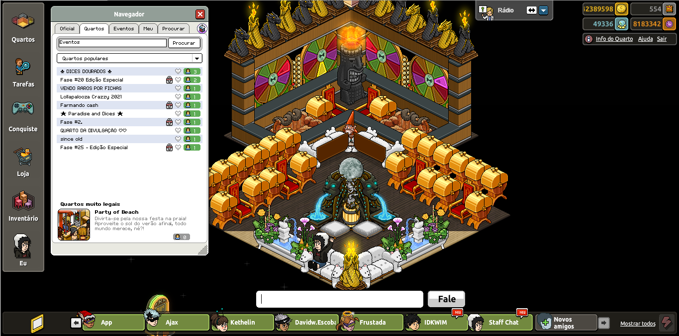 CRAZY HOTEL - HABBO 2010 RETRÔ Unknown