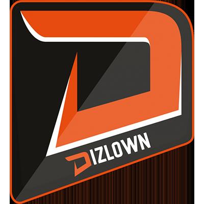 Dizlown team logo