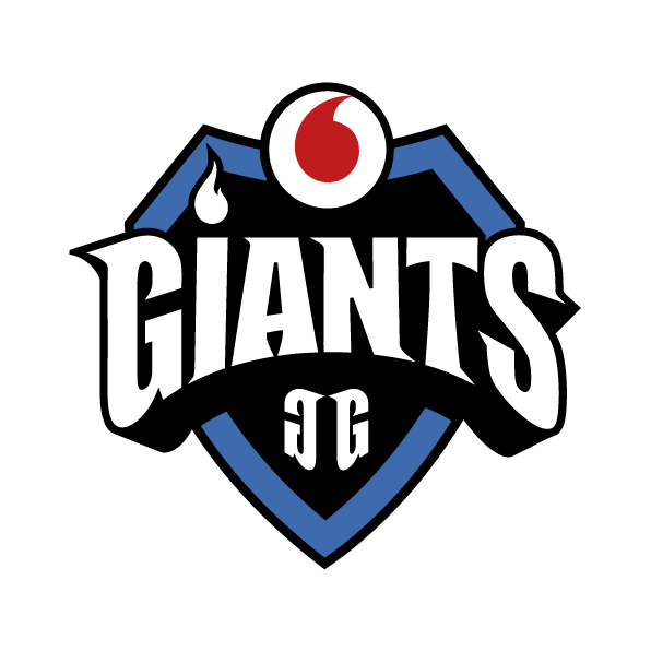 Vodafone Giants team logo