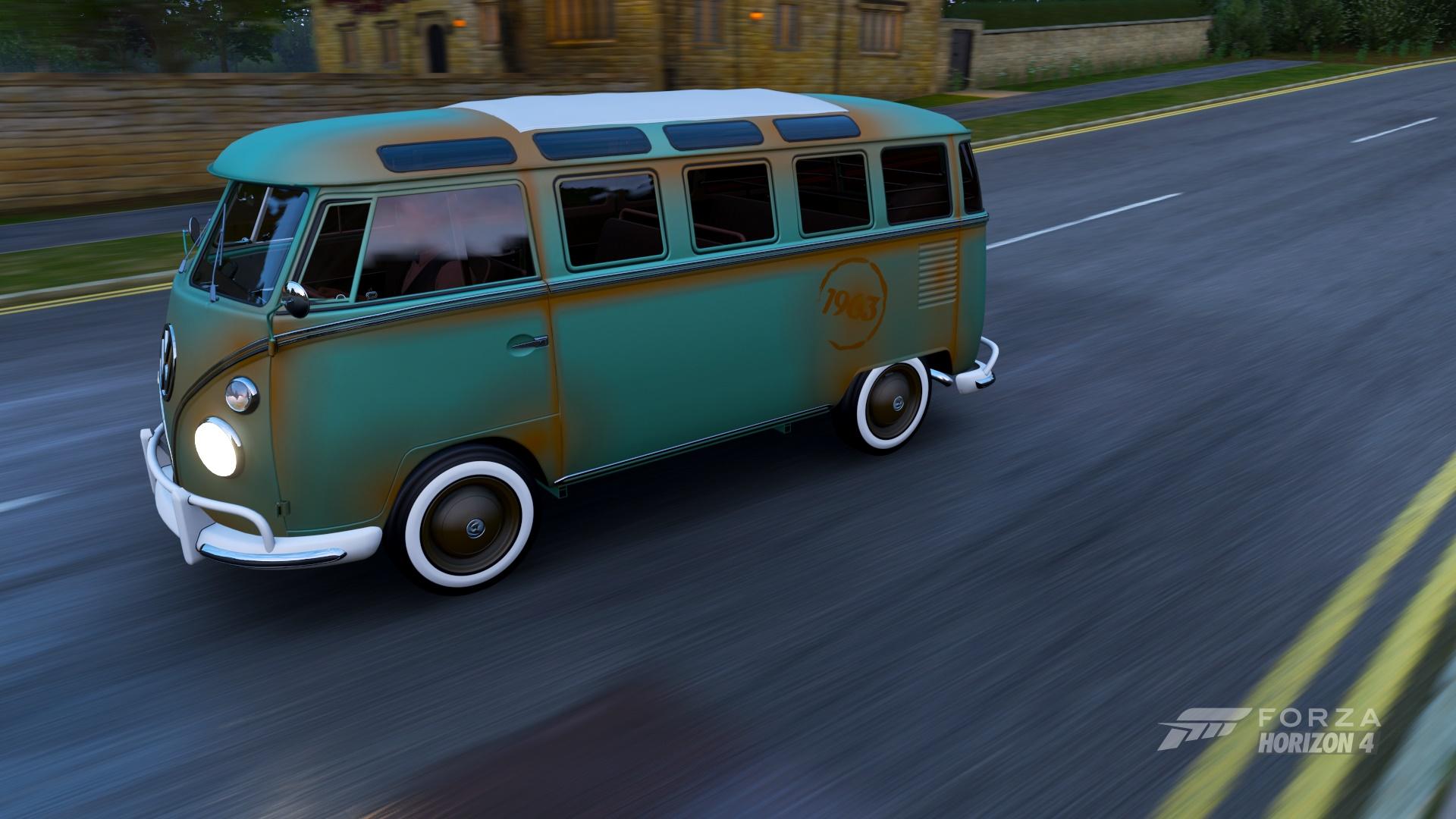 1963 Rust Van