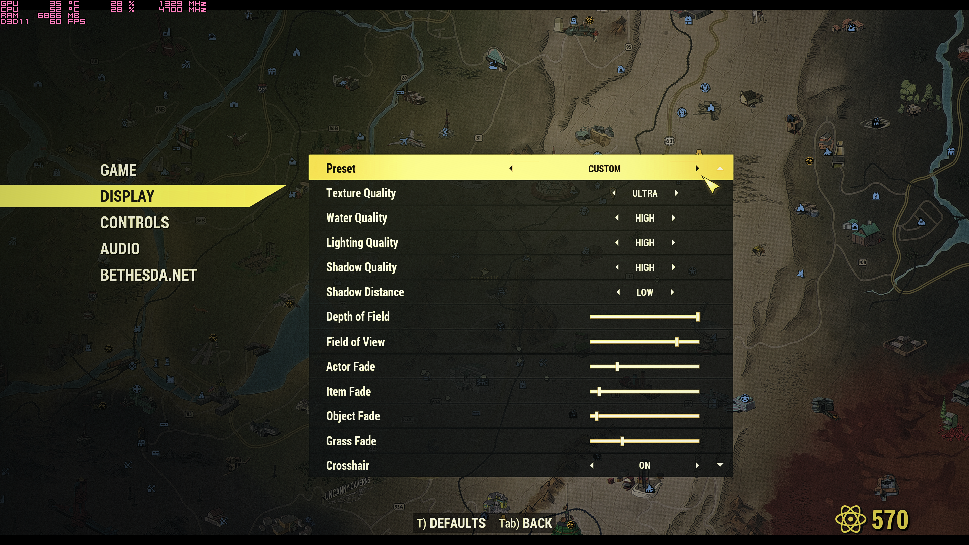 "Fallout76 2019 02 15 04 54 23 997 - [Fallout 76 PC Version] Graphic Presets Explanation + Performance ""fix"""
