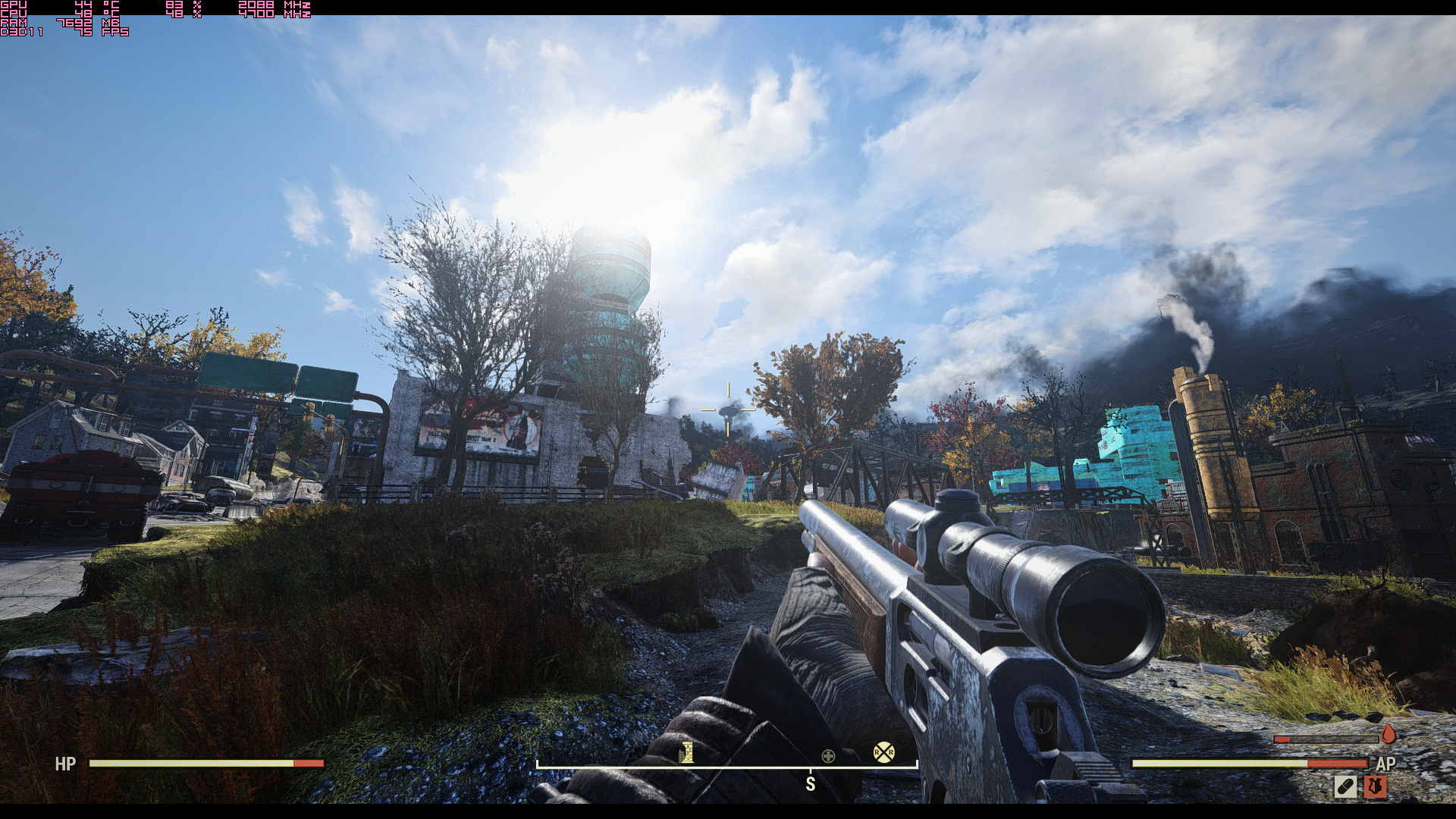 "Fallout76 2019 02 15 06 09 42 986 - [Fallout 76 PC Version] Graphic Presets Explanation + Performance ""fix"""