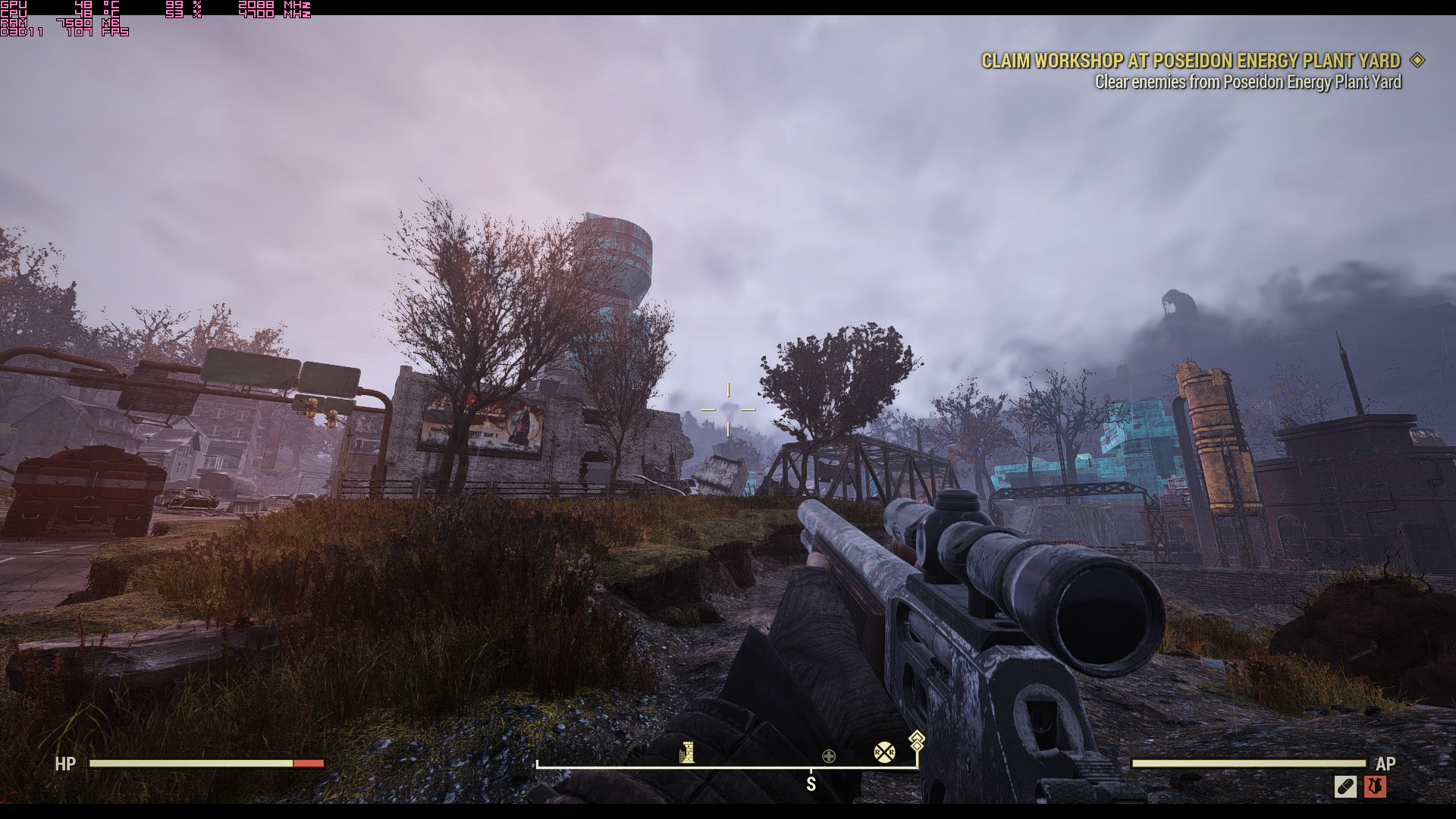 "Fallout76 2019 02 15 06 12 41 541 - [Fallout 76 PC Version] Graphic Presets Explanation + Performance ""fix"""