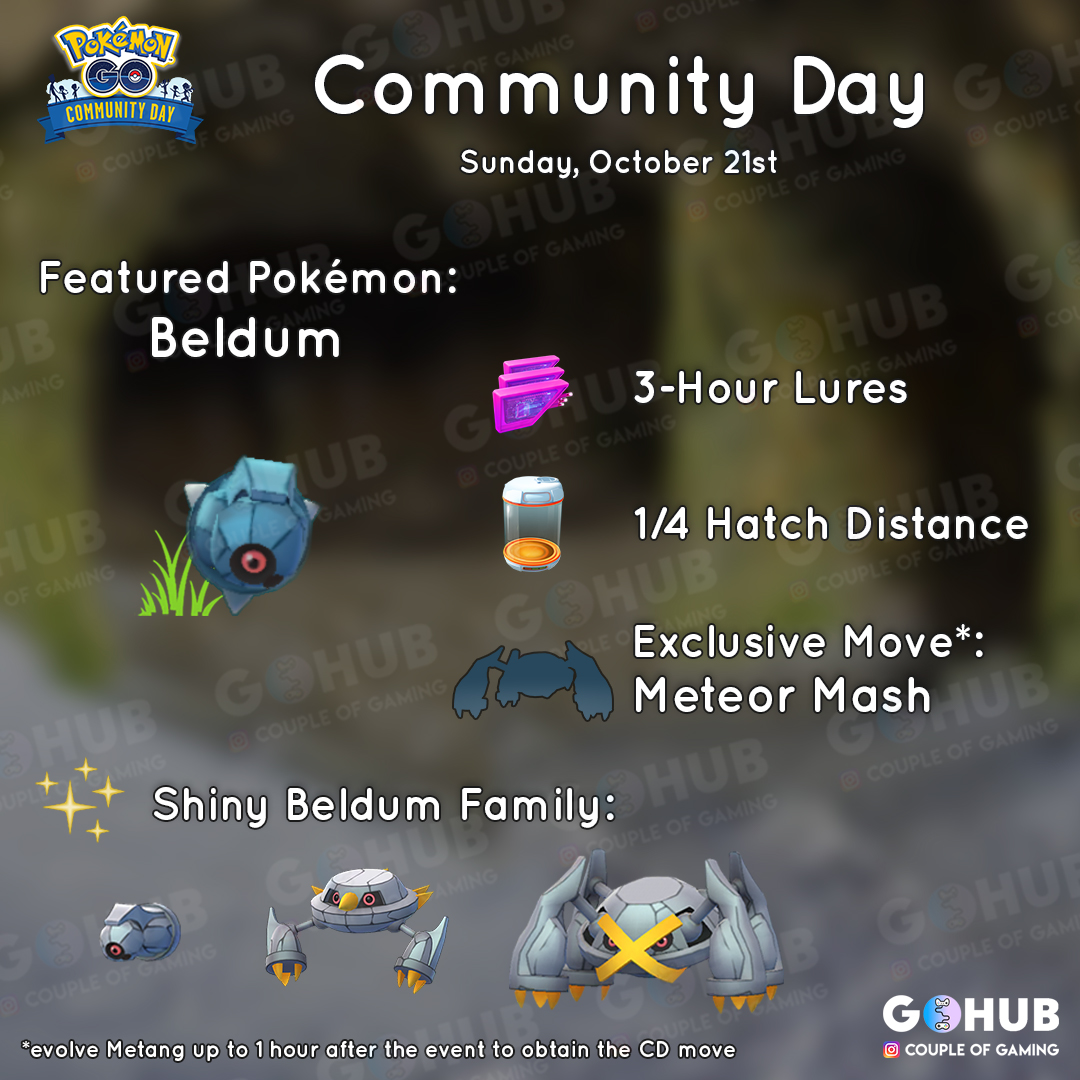 Beldum Community Day