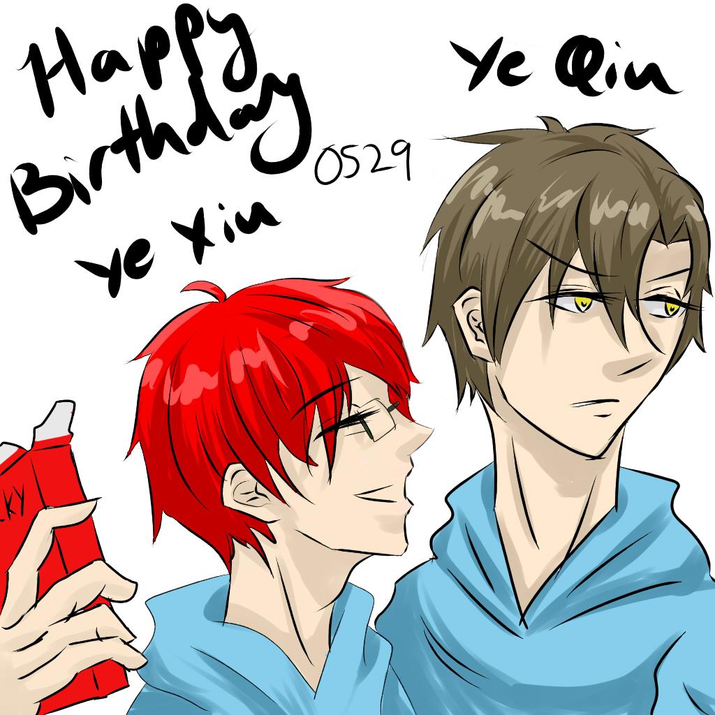 Happy birthday Ye Xiu (and Ye Qiu)!