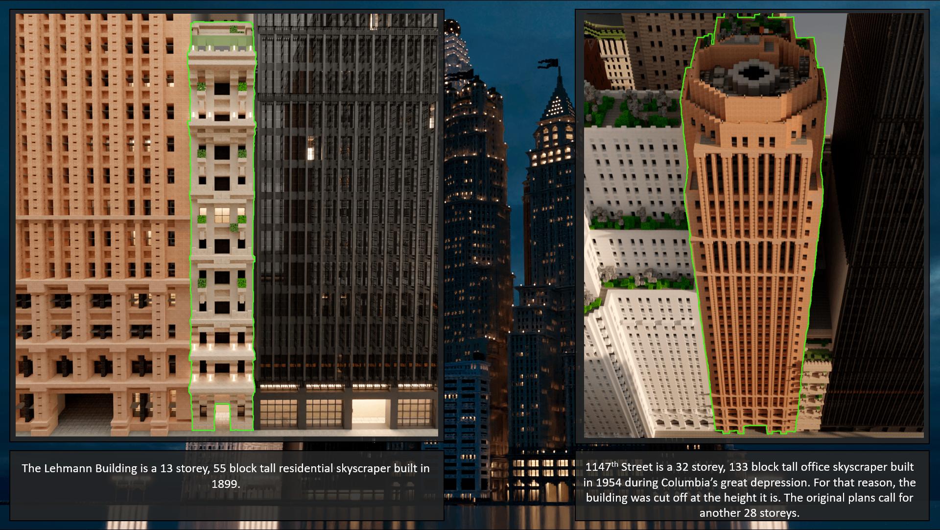 Leviticus & Gilmore Street   Columbia   Lapusian Kingdom Minecraft Map