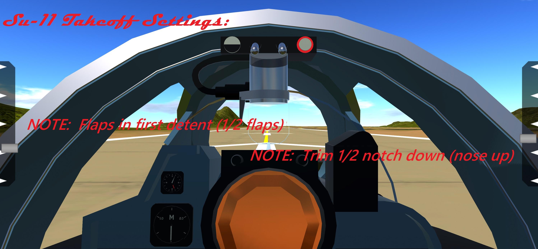 Takeoff Settings
