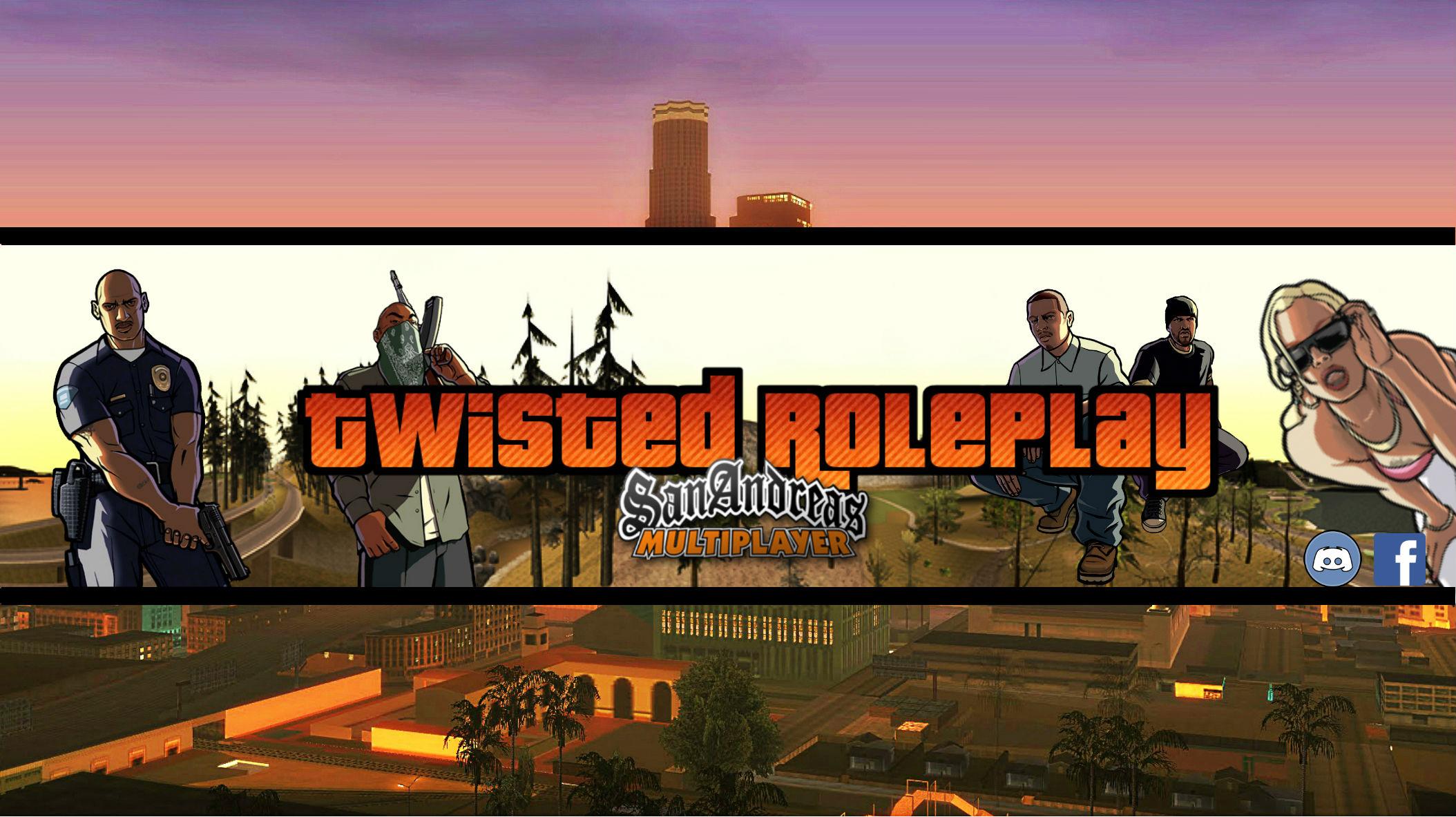 Servidor SAMP TwistedRPG_Banner