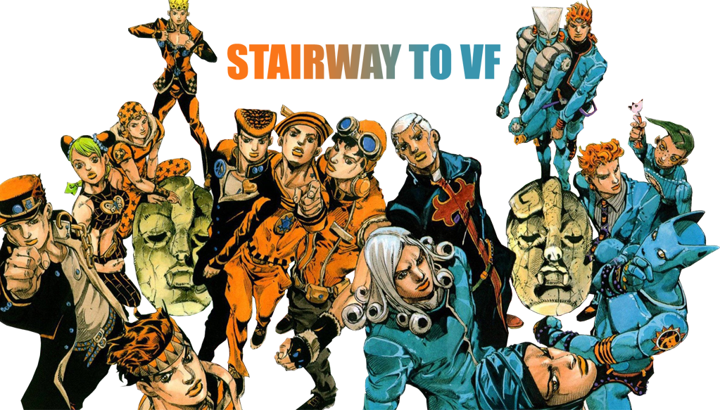Stairway to VF : Scans de JoJo's Bizarre Adventure en couleurs et en français