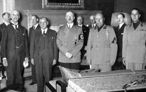 Conférence de Munich au sujet des Sudètes  Unknown