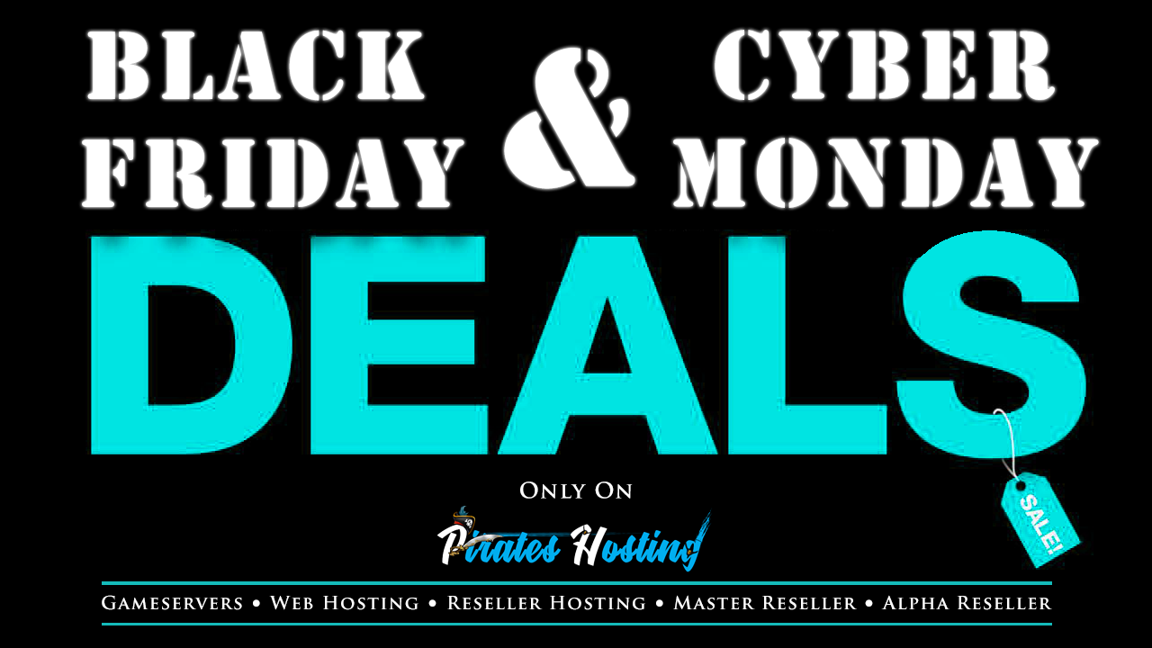 Black Friday - Cyber Monday Deal