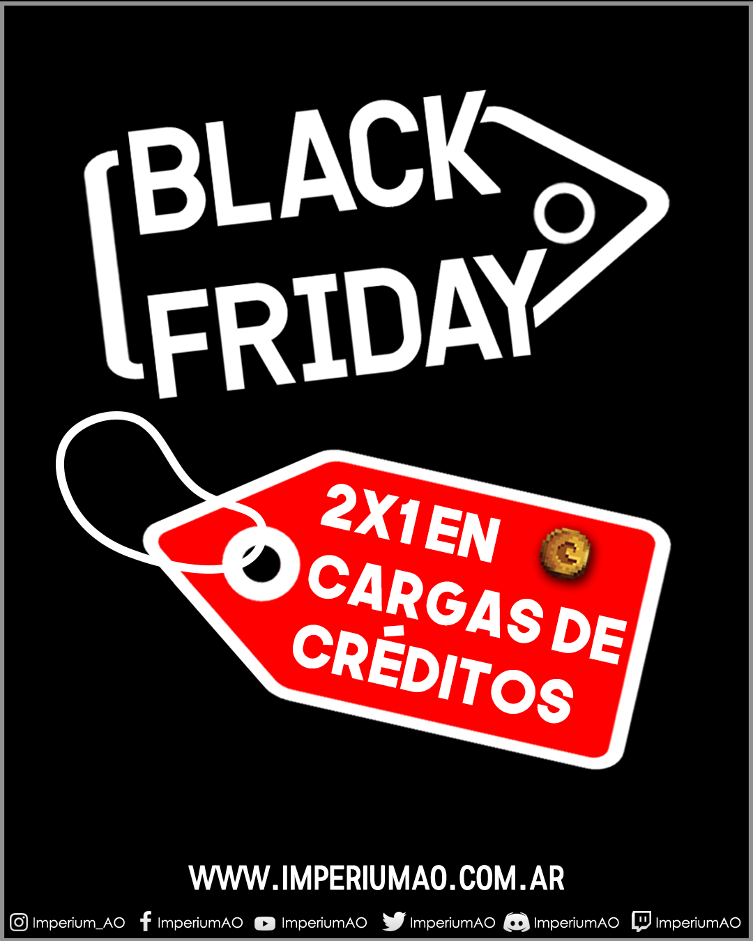 BlackFriday en ImperiumAO
