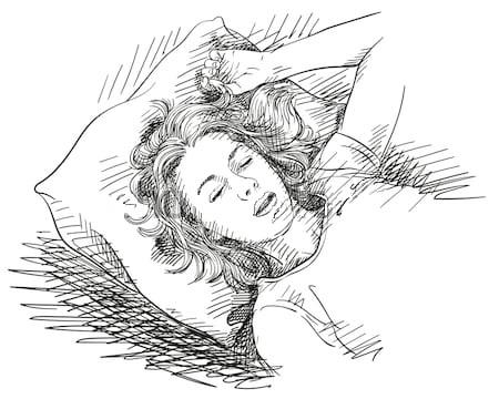 [Bild: sketch-young-woman-sleeping-bed-450w-1172634187.jpg]