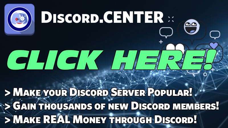 This webpage is sponsored by Discord.Center