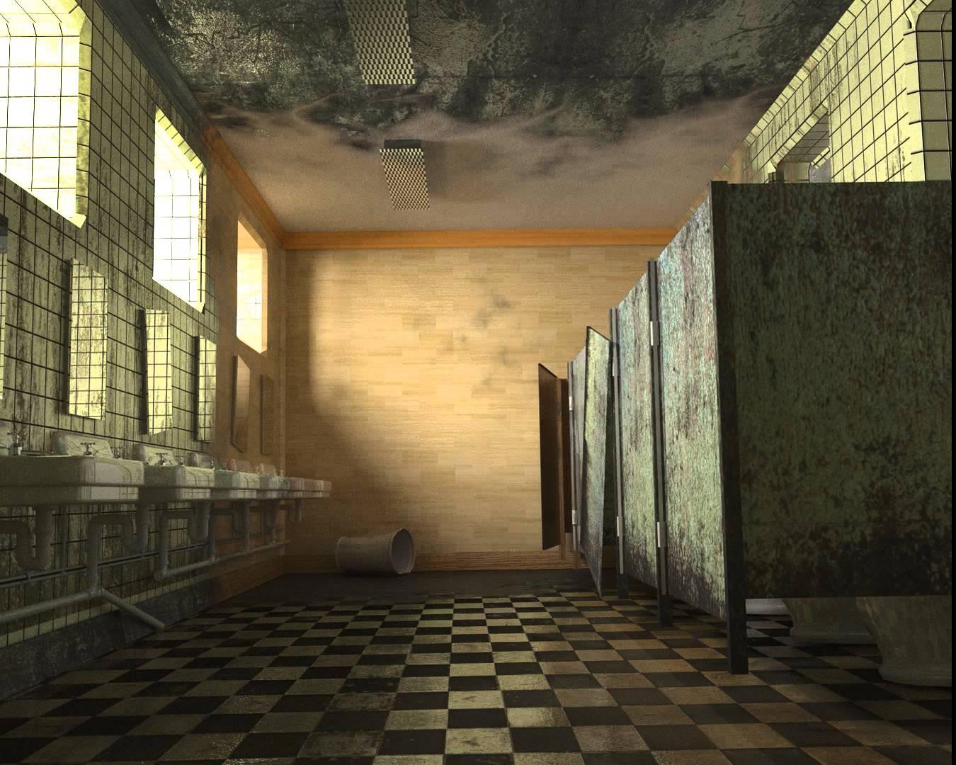 Orfanato Blackwood Banheiros