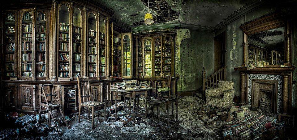 Orfanato Blackwood Biblioteca