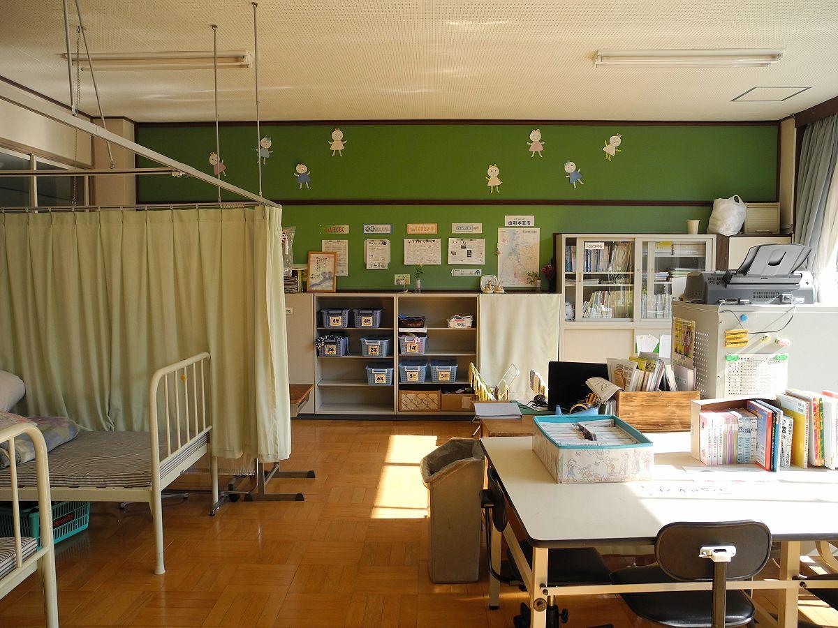 Orfanato Blackwood Enfermaria