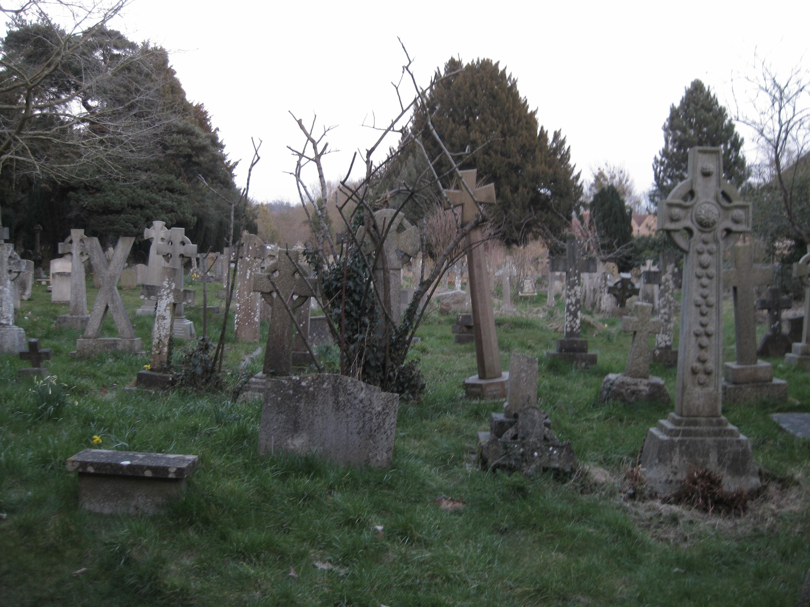 Orfanato Blackwood Cemiterio_logo_atras_das_ruinas