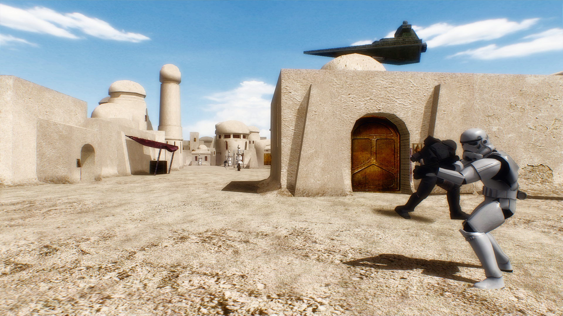 Tatooine Mos Eisley Battlefront 2 HD