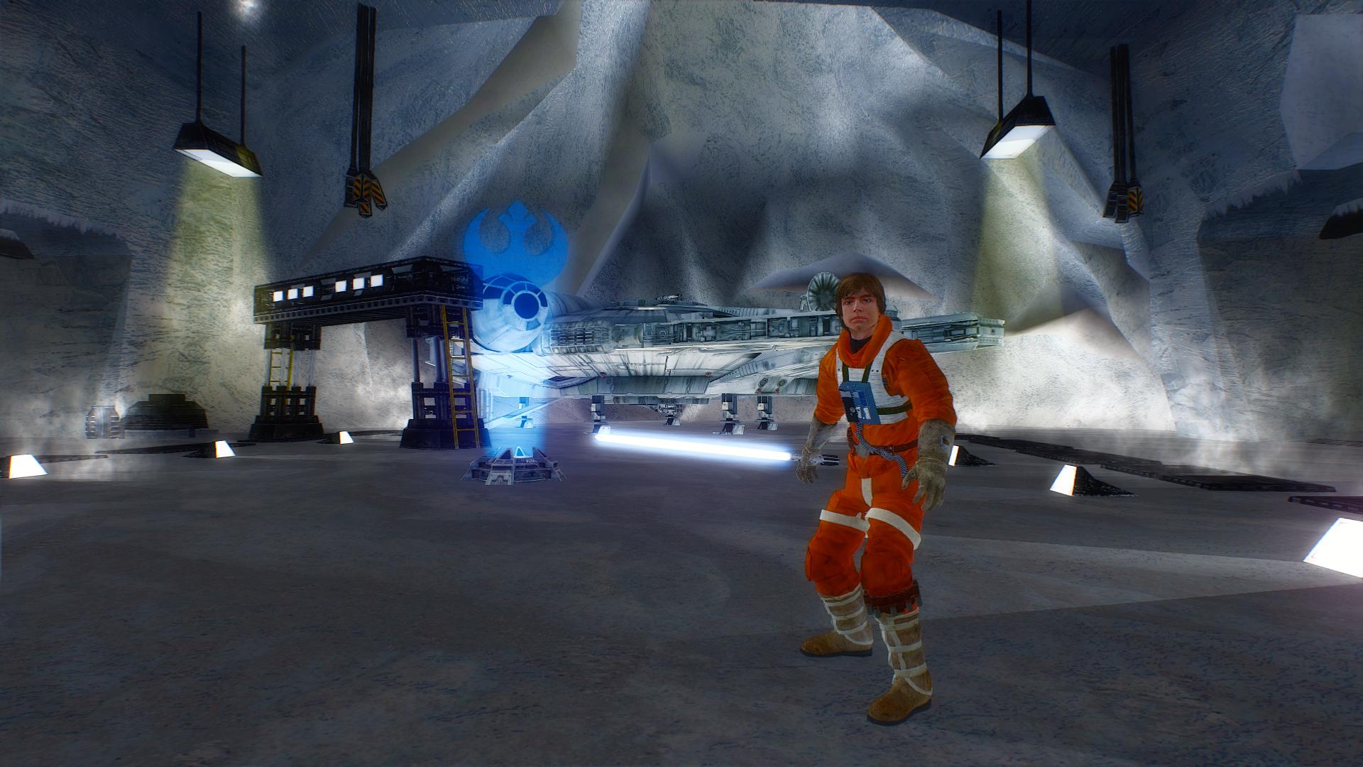 Realistic Hoth Pilot Luke Battlefront 2 HD