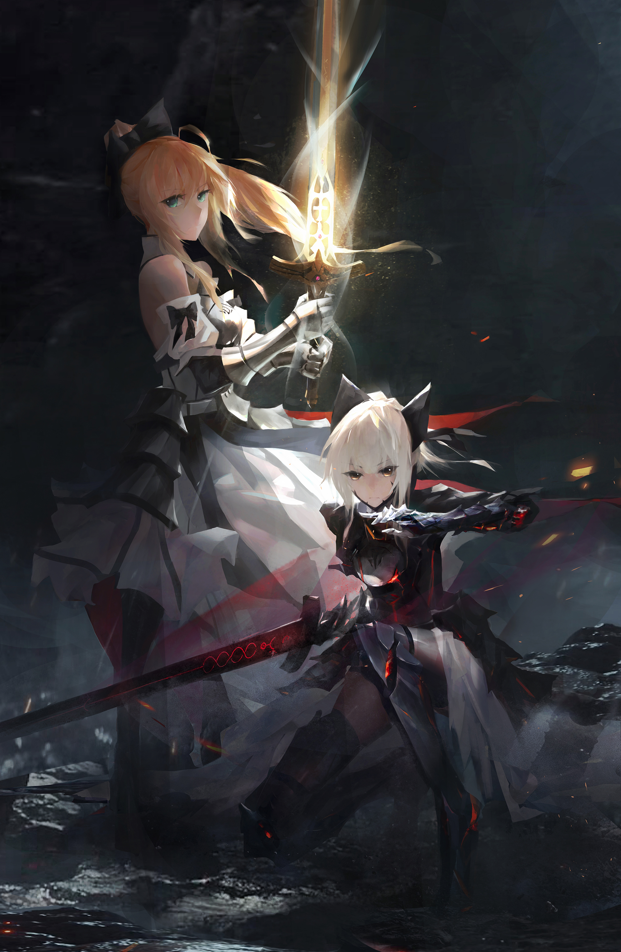 Pin by Wong Jia An on Fate Anime, Anime artwork, Art