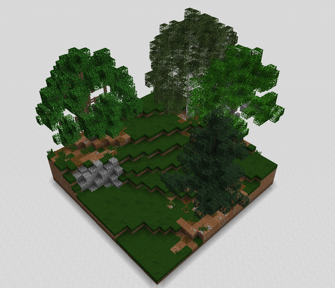 Roofed Forest
