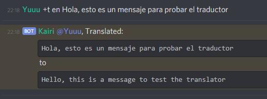 Kairi Translate Test