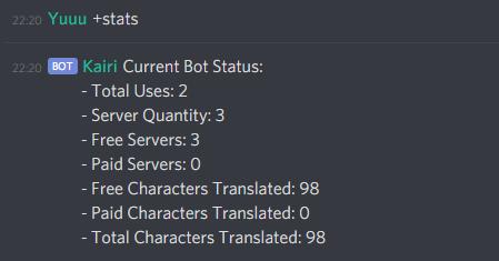 Stats Command