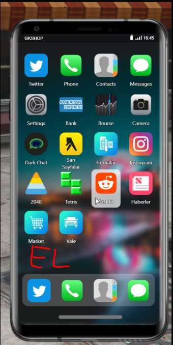 GCPHONE V2.4 with lock screen ,Instagram , valet service , Reddit ,Twitter Download