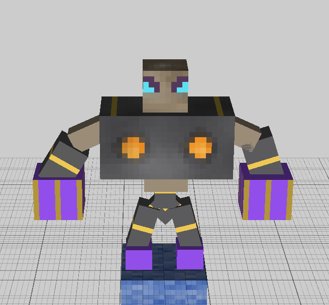 Magetta V1 It is still being worked on for the release. Like the hands and the head details are still being worked on so it will be more accurate on it's release.