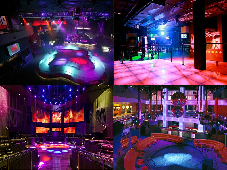 Other floors of the club and views