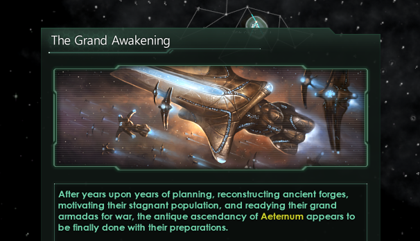 unknown - Gigastructural Engineering Dev Diary: Aeternum, the Fallen Empire at the Galactic Core