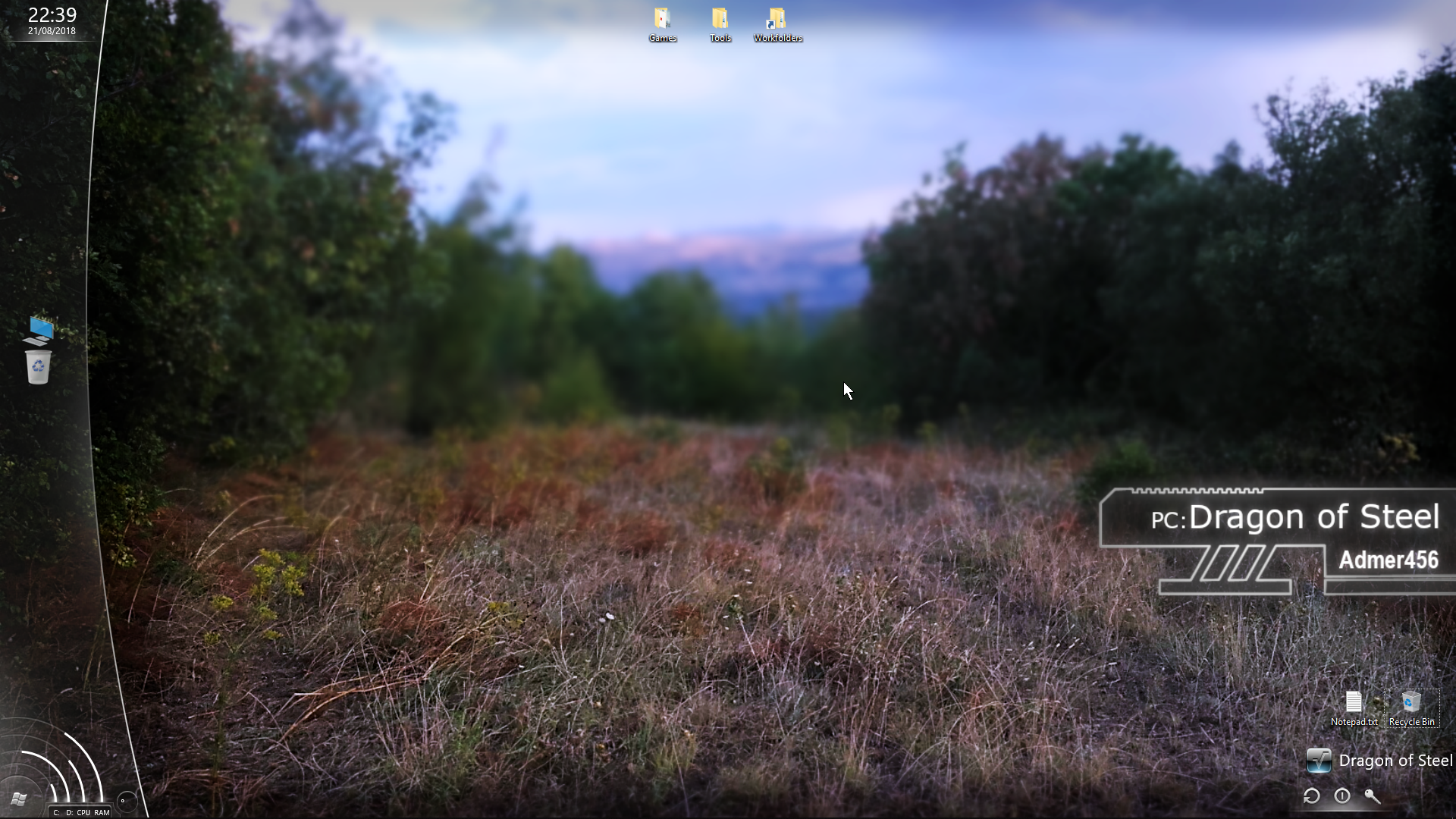 Rainmeter is a gift from God