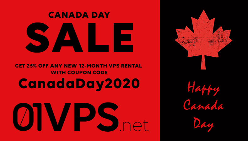 Canada Day Sale 2020
