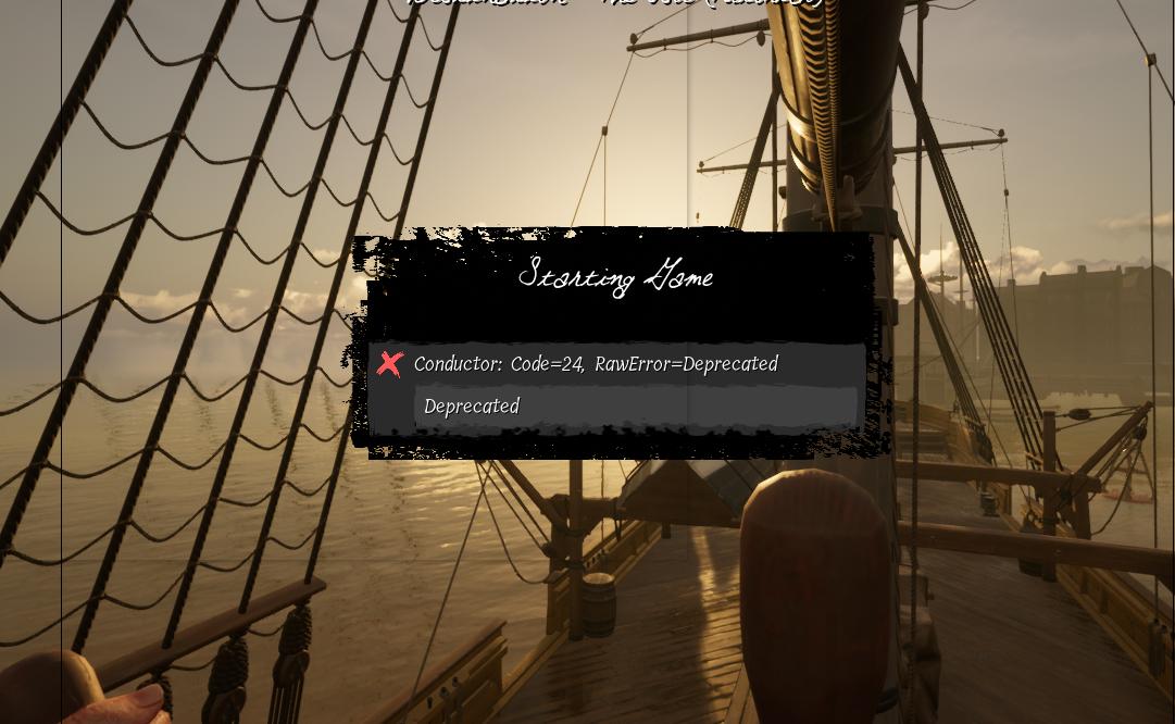 Game bị đứng ở màn hình Starting Game