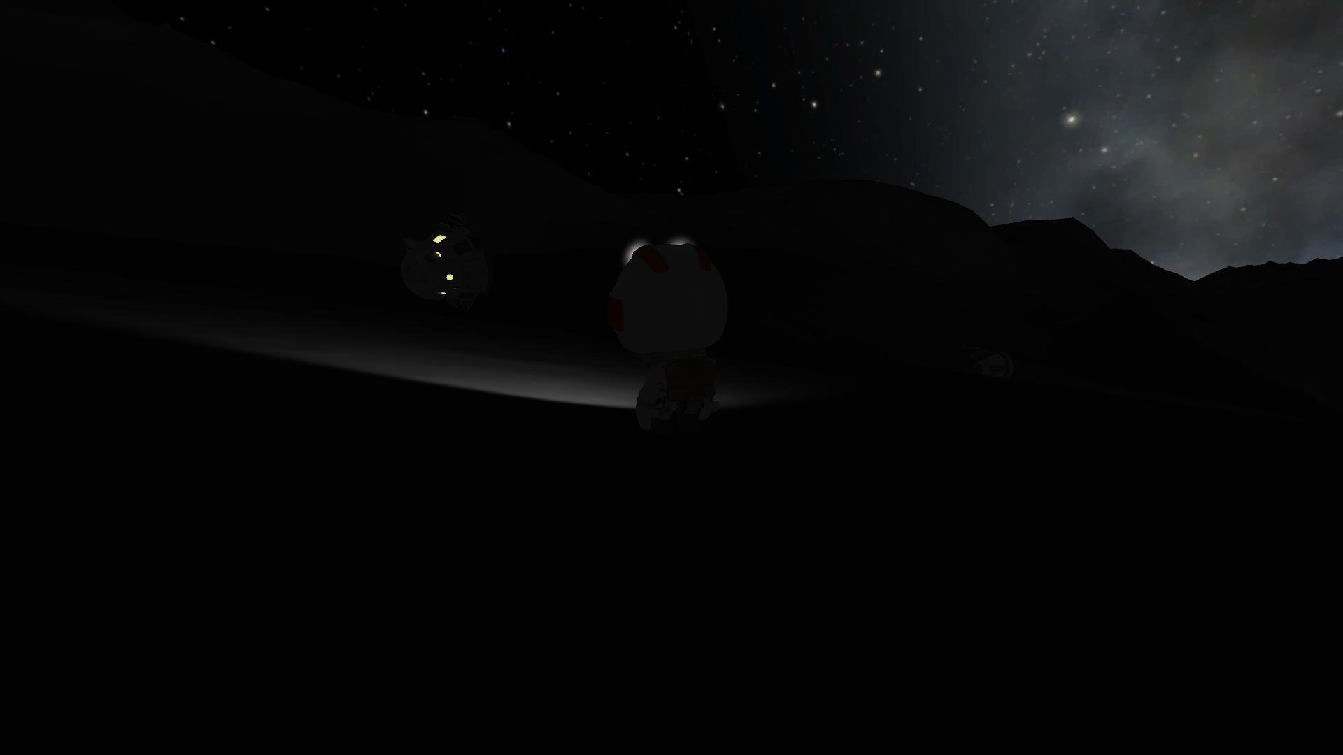 Mission de sauvetage sur la Lune