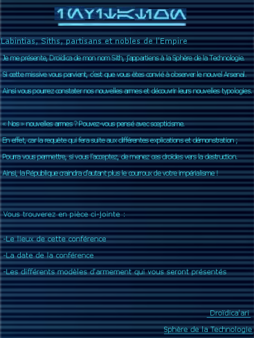 [Event] Soirée de présentation Unknown