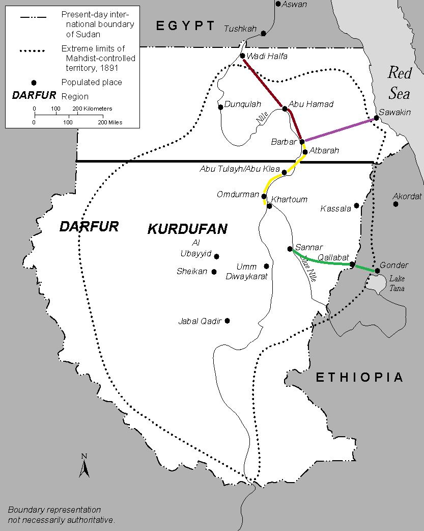 [Egypte & Royaume-Uni / rebelles soudanais] Guerre des mahdistes Soudan_2