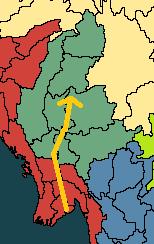 [Royaume-Uni / Birmanie] Troisième guerre anglo-birmane Birmanie